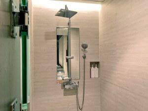 最新式のシャワー
