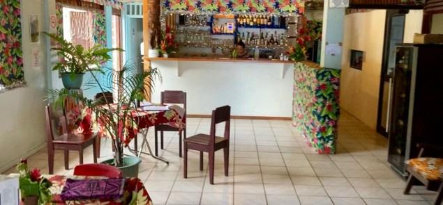 bar du restaurant Moana Nui