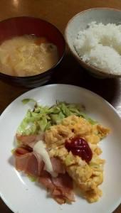 横浜鶴見のパソコン教室の朝食