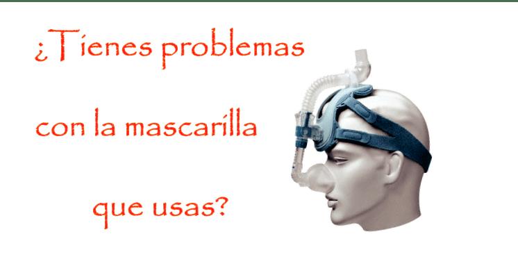 ¿Problemas con la mascarilla de CPAP?. Eliminalos
