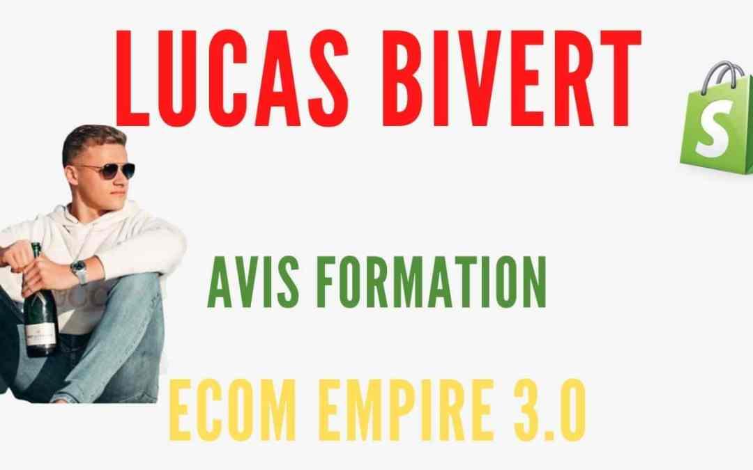 Un mois de dropshipping pour gagner des milliers d'euros avec la méthode Lucas Bivert
