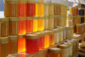 Différents type de miels