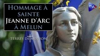 Hommage à sainte Jeanne d'Arc à Melun – Terres de Mission n°165 – TVL