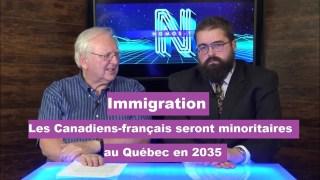 Immigration : En 2035 les Canadiens-français seront minoritaires au Québec