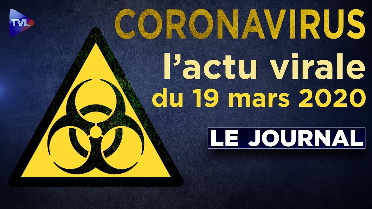 JT du jeudi 19 mars 2020 - Coronavirus : l'actualité quotidienne