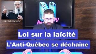 Loi sur la laïcité : L'Anti-Québec se déchaîne