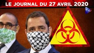 JT – Coronavirus : le point d'actualité – Journal du lundi 27 avril 2020