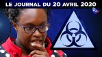 JT – Coronavirus : le point d'actualité – Journal du lundi 20 avril 2020