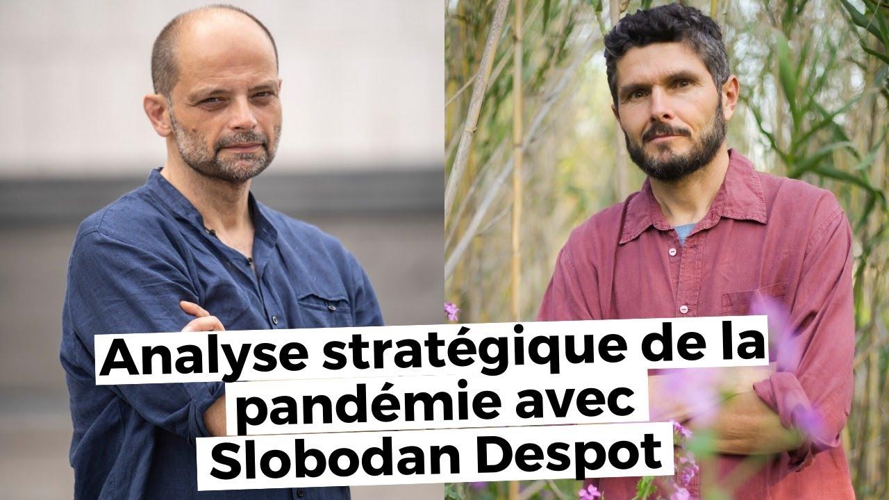 Analyse stratégique de la pandémie avec Slobodan Despot