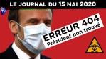 JT – Coronavirus : le point d'actualité – Journal du vendredi 15 mai 2020 avec Nicolas Dupont-Aignan