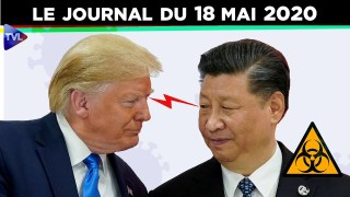 JT – Coronavirus : le point d'actualité – Journal du lundi 18 mai 2020
