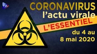 JT – Coronavirus : retour sur l'actualité du 4 au 8 mai