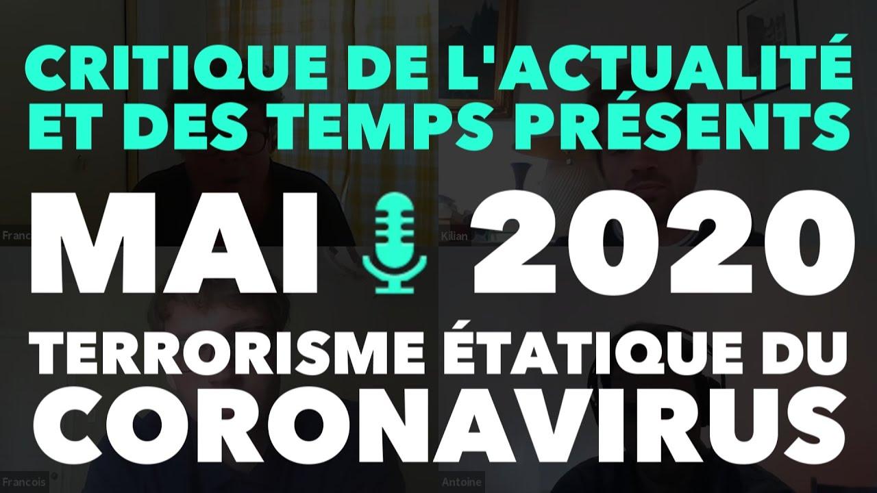 Radio GDC : Terrorisme étatique du coronavirus, crise et retour de la lutte de classe – Mai 2020