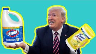Trump, Désinfectant, Censure et Mensonges