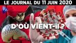 Covid-19 : Laboratoire ou pangolin ? Le Journal du jeudi 11 juin 2020