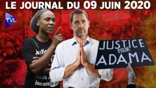 Racisme : le gouvernement à plat ventre – Journal du mardi 9 juin 2020