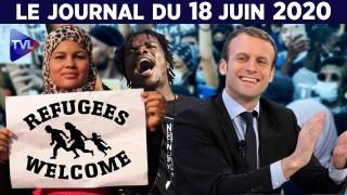 Vers la fin du droit d'asile ? – Le JT du jeudi 18 juin 2020