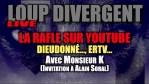 La Rafle Sur Youtube… Dieudonné… ERTV… – Avec Monsieur K + (Invitation à Alain Soral)