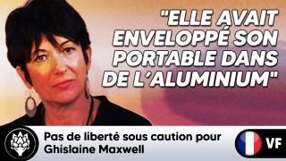 ⛔ Pas de liberté sous caution pour Ghislaine Maxwell dans l'affaire de trafic sexuel #JeffreyEpstein