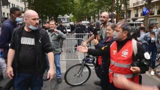 [REPORTAGE] Gilets Jaunes VS Syndicats : le torchon brûle à la manifestation des soignants