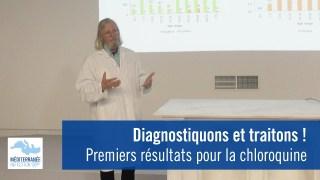 Coronavirus : diagnostiquons et traitons ! Premiers résultats pour la chloroquine