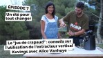 "Le ""jus de crapaud"":  comment utiliser l'extracteur vertical avec Alice Vanhoye (Kuvings)"