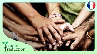 Nous devons nous unir et nous éduquer !