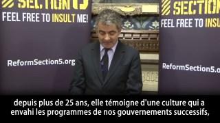 Rowan Atkinson sur la liberté d'expression
