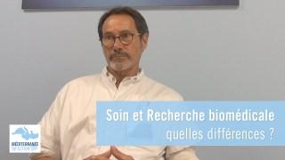 Soin et recherche biomédicale : quelles différences ?