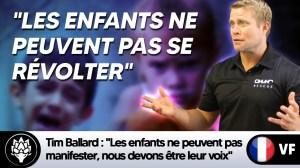 """Tim Ballard : """"Les enfants ne peuvent pas manifester, nous devons être leur voix"""""""