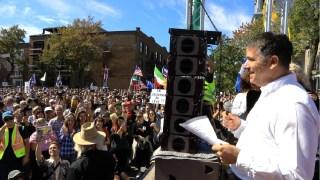 Alexis Cossette-Trudel – 12 septembre – Marche à Montréal #FDDLP