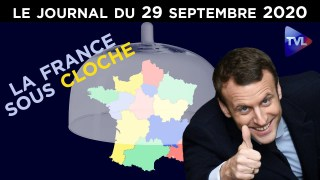 Covid-19 : Macron vers le reconfinement forcé ? – JT du mardi 29 septembre 2020