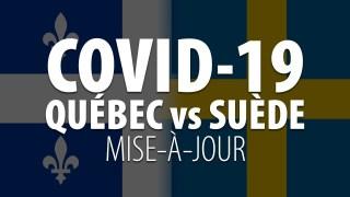 COVID-19 QUÉBEC vs SUÈDE – MISE-À-JOUR 9 SEPTEMBRE 2020
