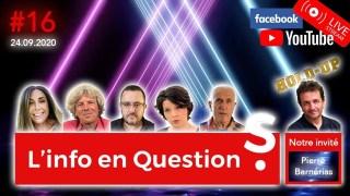 [CENSURÉ] Info en Questions #16 – LIVE – avec Pierre Barnérias (réalisateur film Hold-Up / Covid19)