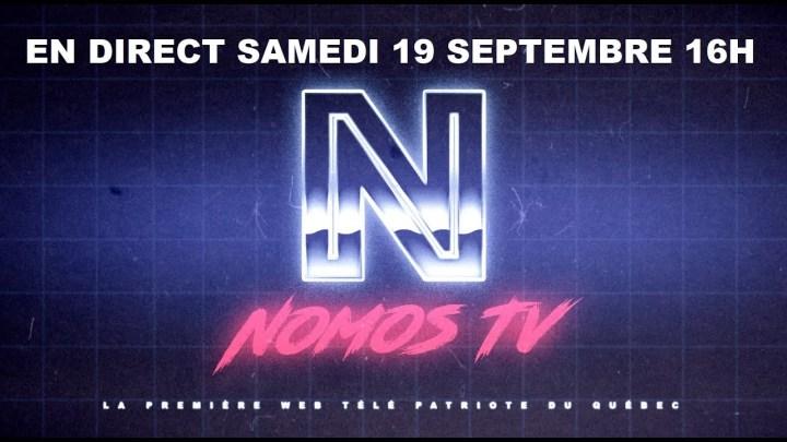 PREMIER DIRECT : Nomos-TV répond à vos questions !
