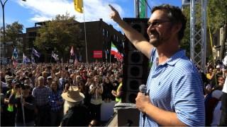 Stéphane Blais – 12 septembre – Marche à Montréal #FDDLP