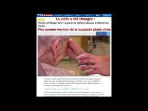 Vidéo sur l'image non virale de Doug Ford et François Legault supprimée de TVA