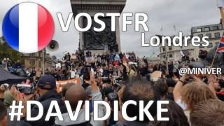 [CENSURÉ] [VOSTFR] Dav.'id Ic-k.e Discours lors du rassemblement 'S'unir pour la liberté' Londres 29 août 2020