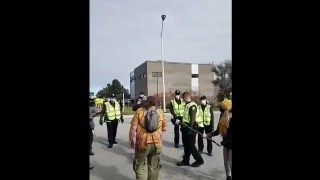 ActuQc : Première Contravention, + arrivée Police antiémeute Rimouski – 3 Octobre