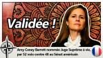 Amy Coney Barrett nommée juge suprême !