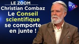 """Christian Combaz : """"Le Conseil scientifique se comporte en junte !"""" – Le Zoom – TVL"""