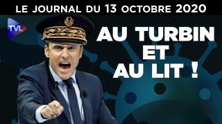Covid-19 : La France masquée… l'hôpital à poil – JT du mardi 13 octobre 2020
