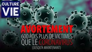 CULTURE DE VIE – L'AVORTEMENT A FAIT 600 FOIS PLUS DE VICTIMES QUE LE CORONAVIRUS EN 2020