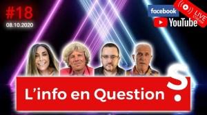 Info en Questions #18 – LIVE