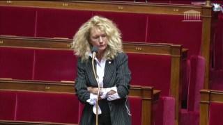Martine Wonner à l'Assemblée