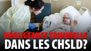 NÉGLIGEANCE CRIMINELLE DANS LES CHSLD?  ENTREVUE AVEC STÉPHANE GUAY