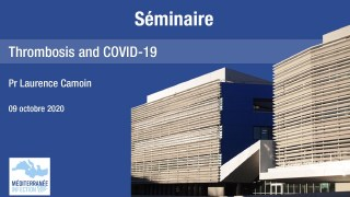 Séminaire – Thrombosis and COVID-19