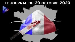 Terrorisme, confinement : les Français abattus – JT du jeudi 29 octobre 2020