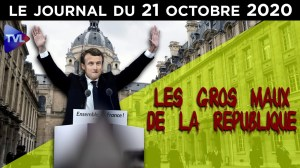 Terrorisme islamiste : le point de non retour ? – Le journal du mercredi 21 octobre 2020