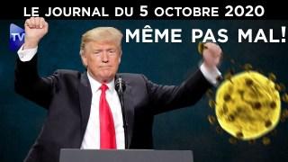Trump contre le Covid-19 – JT du lundi 5 octobre 2020